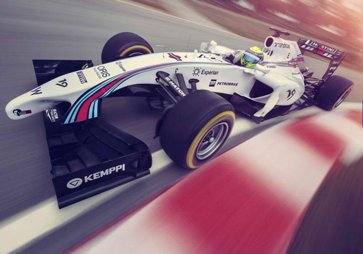 Oris en F1 avec l'écurie Williams