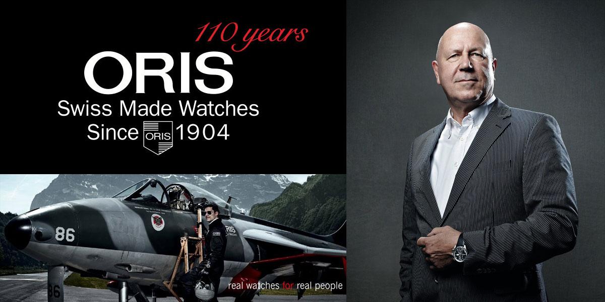Interview de Ulrich Herzog, CEO des montres Oris