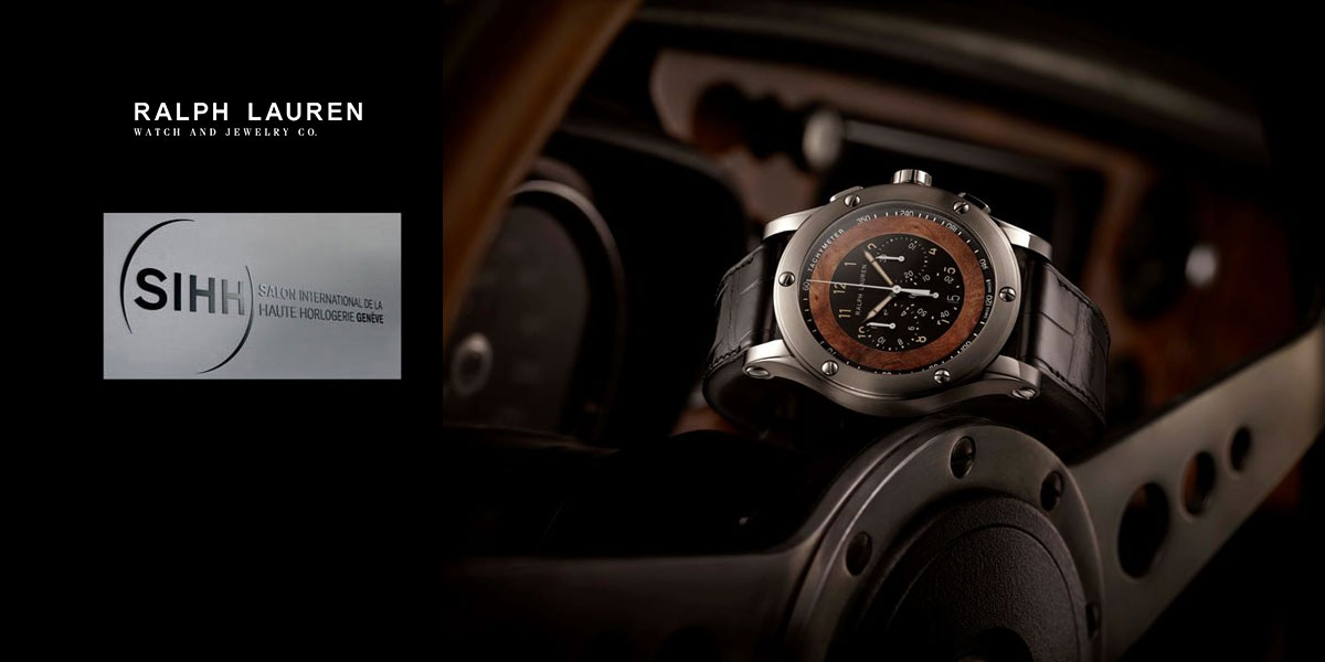 Ralph Lauren Automotive Chronographe - SIHH 2015