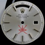 Rolex 1803 Silver Oman Crest dial