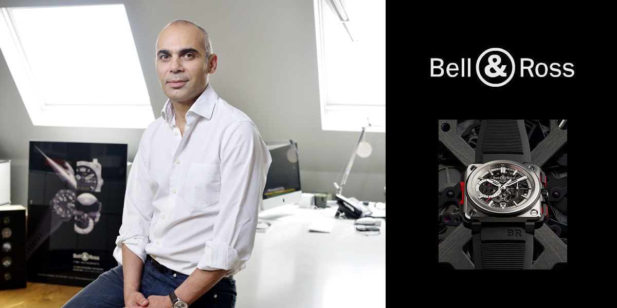 Interview Bruno Belamich, desgner des montres Bell & Ross