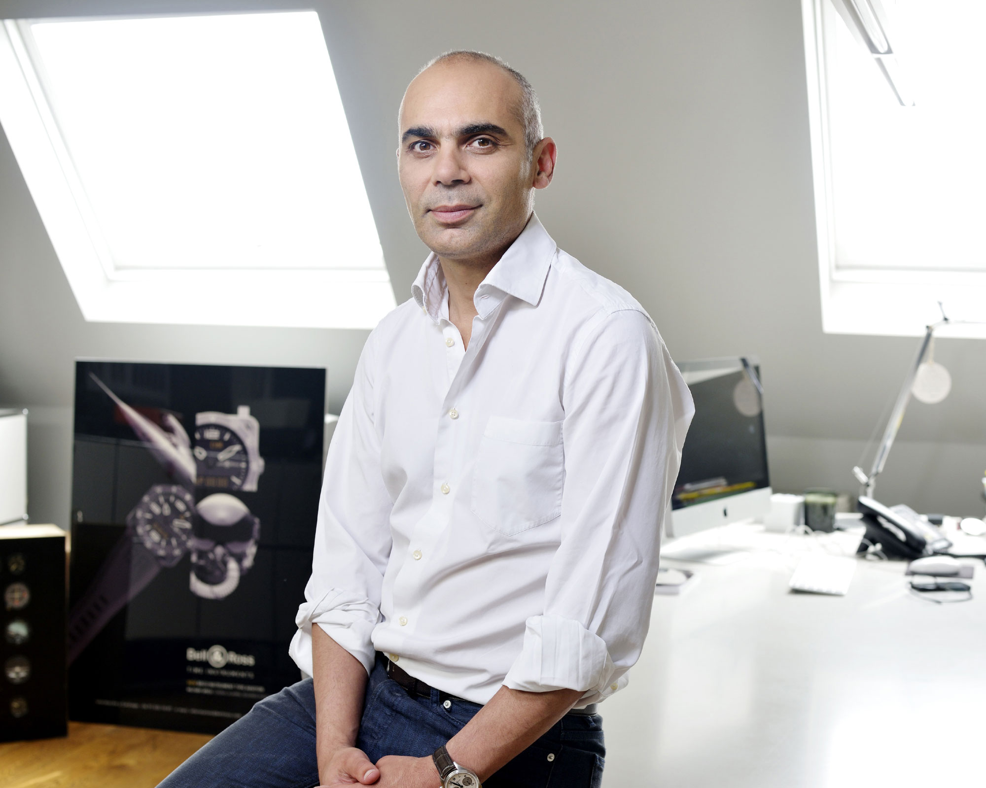 Bruno Belamich, designer et co-fondateur de Bell & Ross