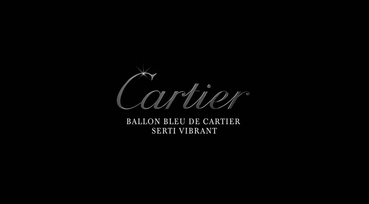 Ballon bleu de Cartier serti vibrant