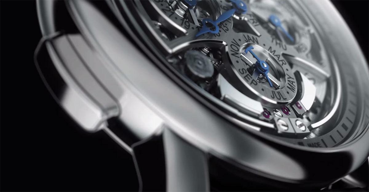 Montre Rotonde de Cartier Grande Complication Squelette - Répétition minutes