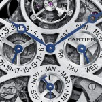 Montre Rotonde de Cartier Grande Complication Squelette