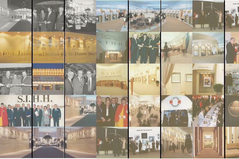5 : Soit le nombre d'exposants lors de la première édition du SIHH en 1991, le salon s'étendait alors sur 4 500 m².