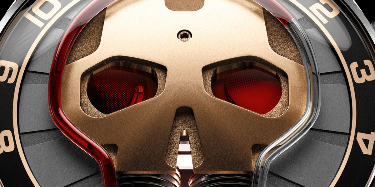HYT Skull Red Eye
