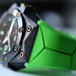 Linde Werdelin Oktopus Double Date Carbon - Green