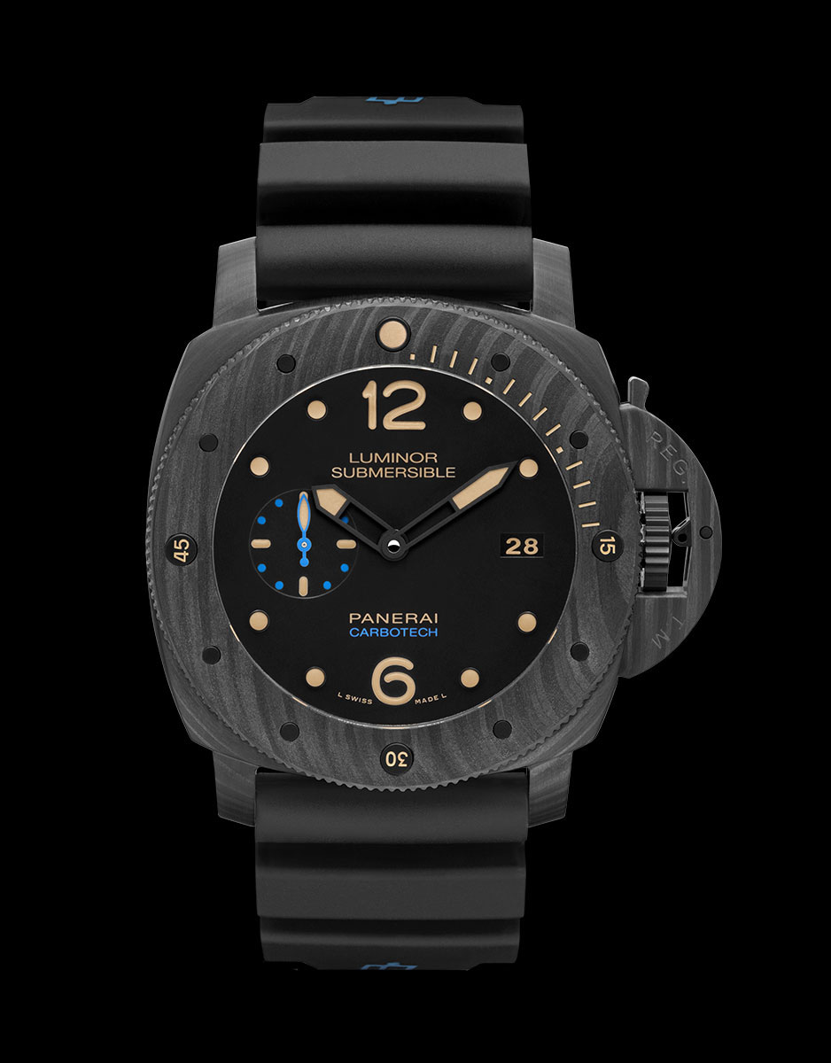 Panerai Luminor Submersible 1950 Carbotech 3 Days Automatic - 47 mm PAM00616