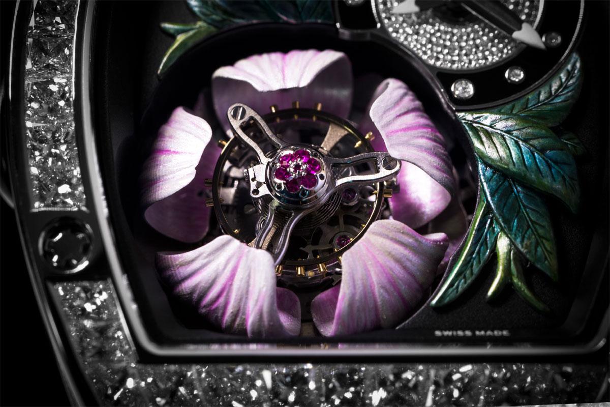 Richard Mille RM19-01 Tourbillon Fleur