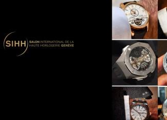 Le SIHH 2015 sur Instagram en 12 montres
