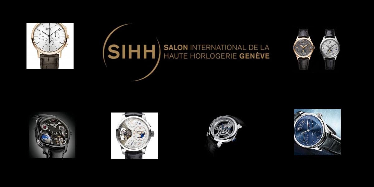 Pre SIHH 2015 : Six montres coup de coeur