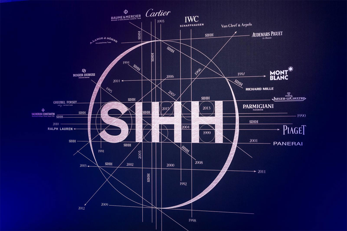 Visuel du Salon International de la Haute Horlogerie