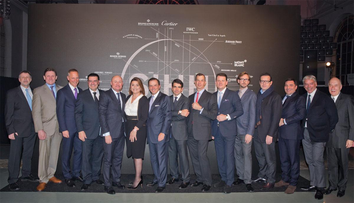 SIHH 2015 : Photos de famille des CEO des maisons horlogères exposantes