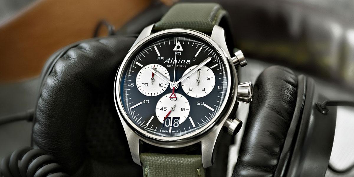 Alpina Pilot Chronographe Grande Date