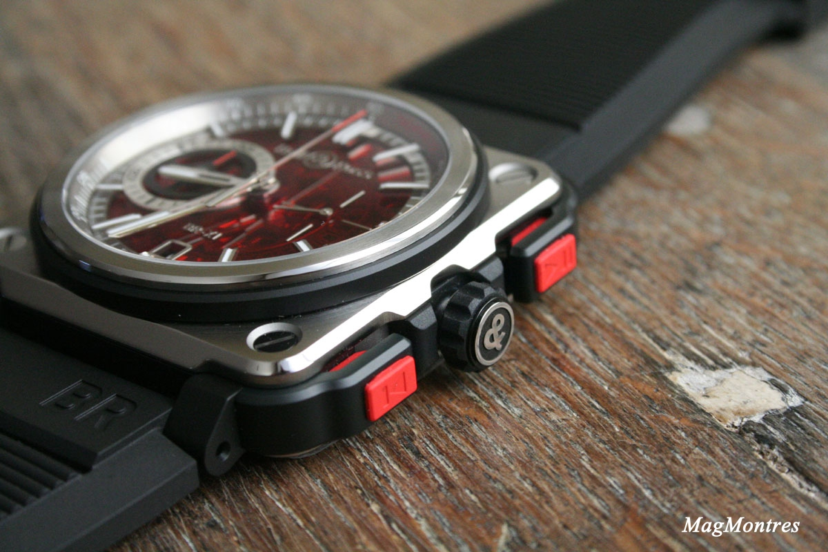 Bell & Ross BR-X1 Skeleton Chronograph Red Edition