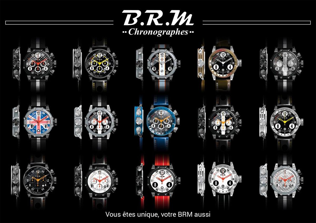 BRM Chronographes : Vous êtes uniques, votre BRM aussi