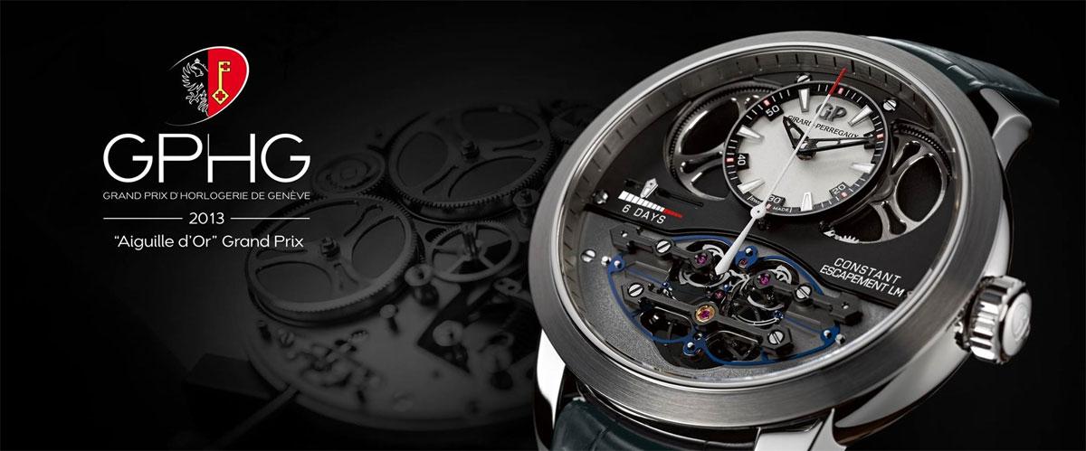 Grand Prix d'Horlogerie de Genève, Aiguille d'Or 2013
