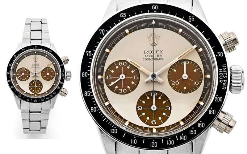 "Rolex Oyster Daytona ""Paul Newman"" , dite Ultimate Coffee Panda, réf. 6263/6239 - Prix : 453 400 $"