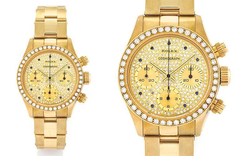 Rolex Daytona Diamond Cosmograph Oman réf 6269/8 - Prix : 491 202 $