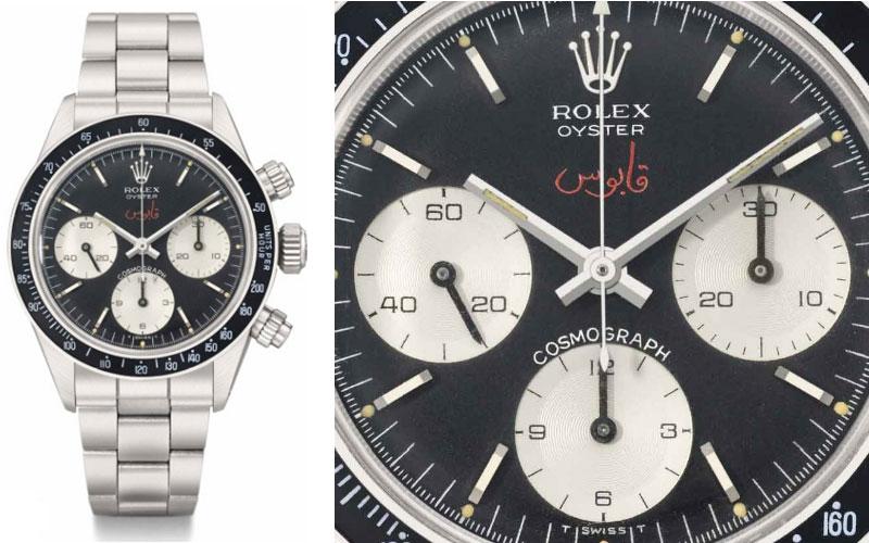 Rolex Daytona du Sultan Qaboos Bin Said Al Said - Prix : 864 521 $