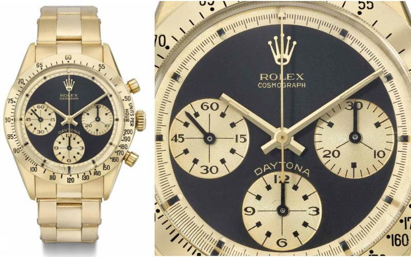 Rolex Paul Newman Réf 6239 - Prix : 547 346 $
