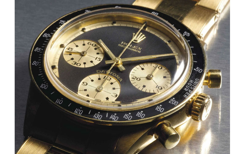 Rolex Daytona in 18K yellow gold ref 6241 - Price: $ 519,776