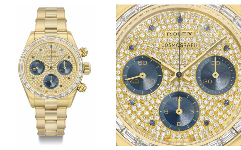 Rolex in yellow gold ref 6270/6263 - Price: $ 1,024,654