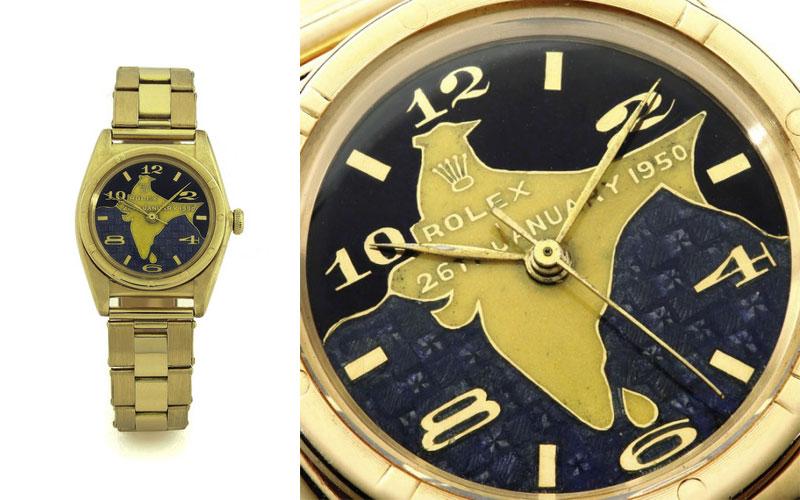 Rolex Oyster de Rajendra Prasad - Prix : 440 000 $