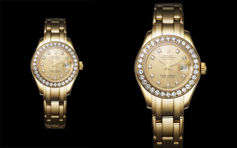 1992 : Première Rolex Lady-Datejust Pearlmaster