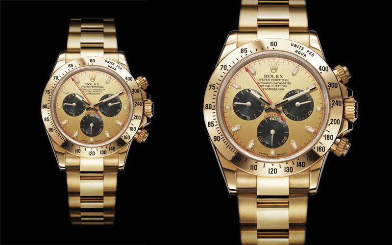 2000 : Première Rolex Cosmograph Daytona équipé du mouvement 4130