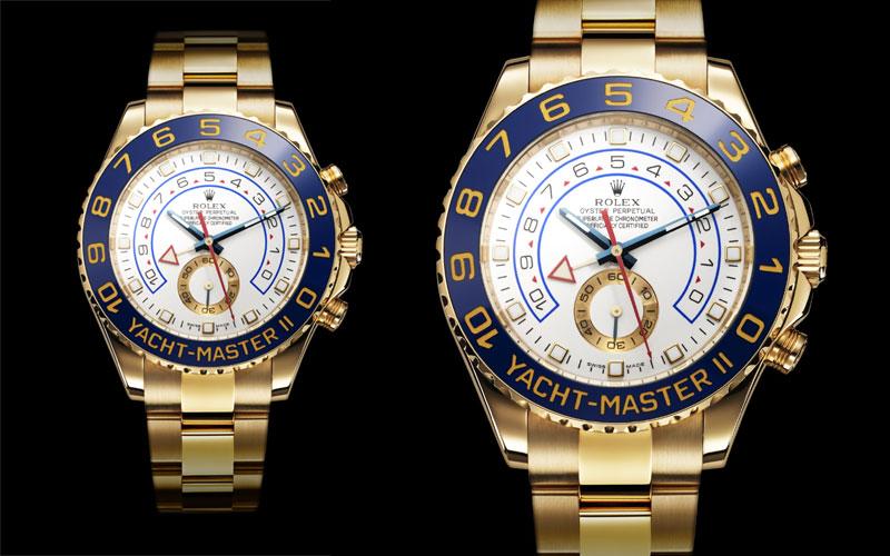 2007 : Première Rolex Yacht-Master II