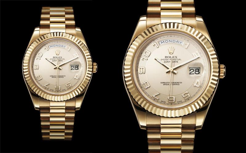 2007 : Première Rolex Day-Date II