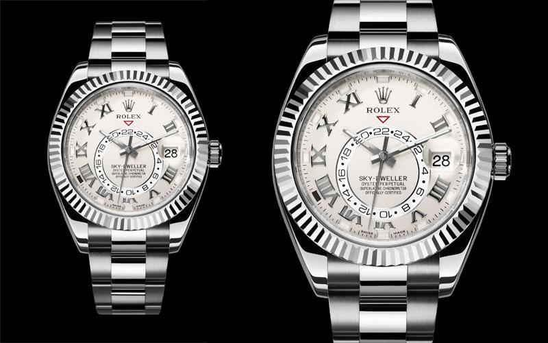 2012 : Première Rolex Sky-Dweller