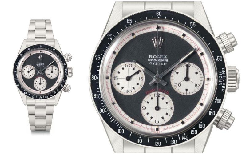 "Rolex Daytona Black ""RCO"" Paul Newman - Prix : 1 089 186 $"