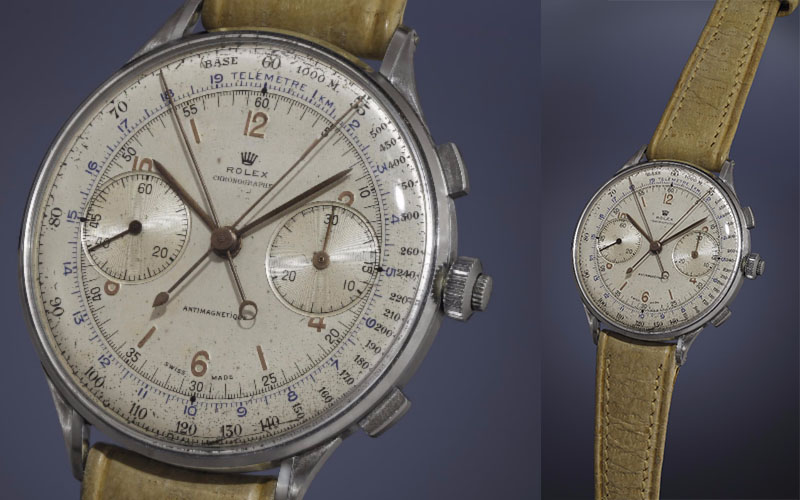 Rolex Antimagnetique Reference 4113 « Split Seconds » de 1942