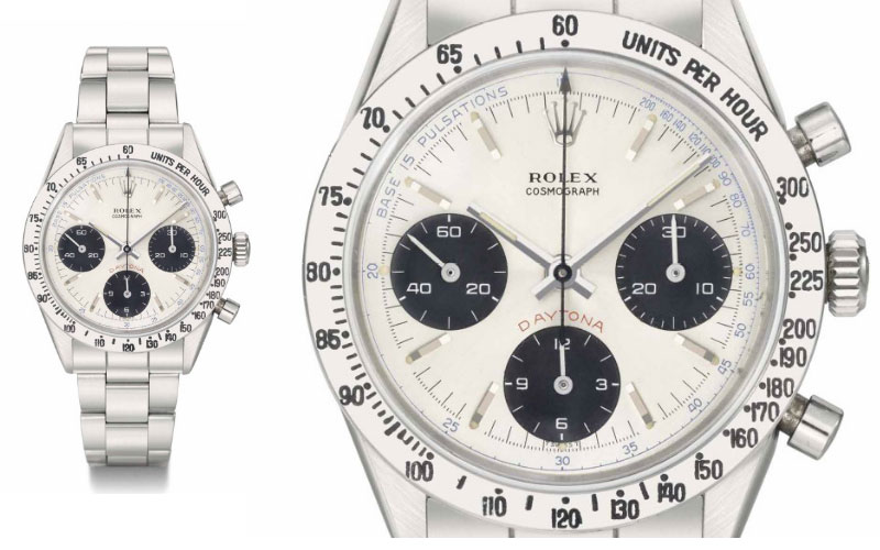 Rolex Pulsation dial 6239 - Prix : 838 090 $