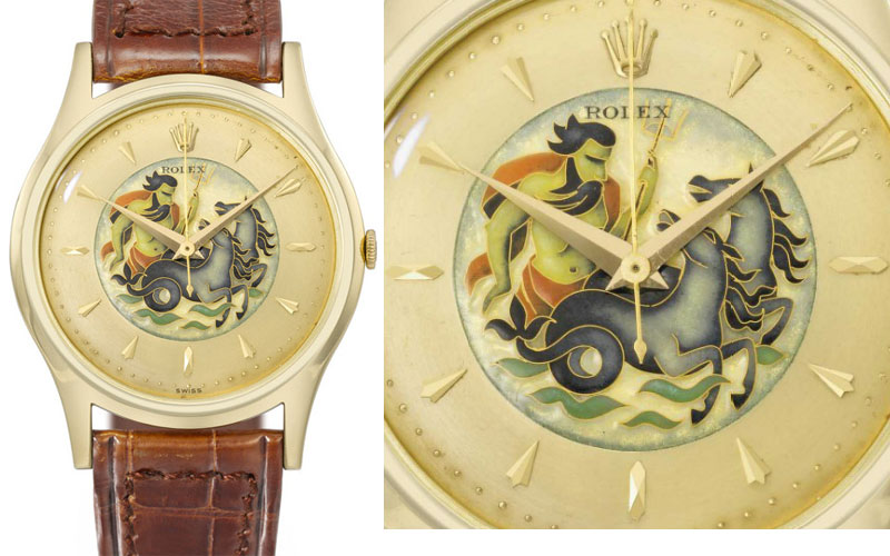 Rolex ref 8382 en or jaune de 1953 - Prix : 678 426 $