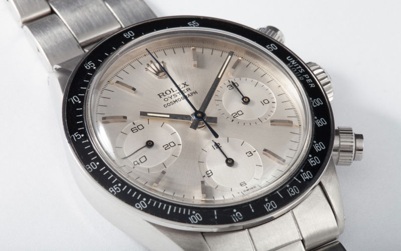 1971 Rolex Daytona - Ranking of the World's Most Expensive Rolexes
