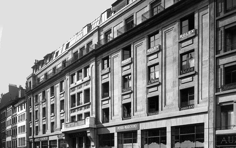 Rolex n'a déménagé de Londres à Genève qu'en 1919