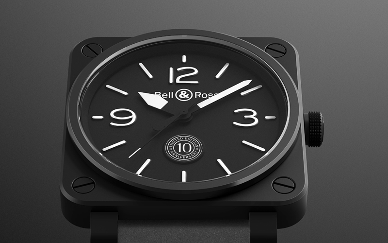 BR 01 10th Anniversary - Baselworld 2015