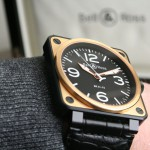 Bell & Ross BR 01-92 Or Rose Finition Carbone