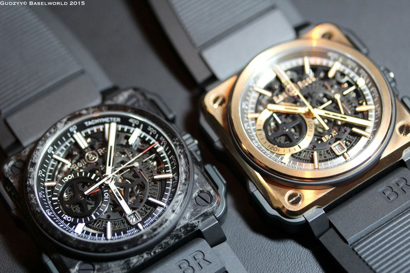 BR-X1 Ltd Carbone Forgé - Baselworld 2015 | Copyright Gudzzy
