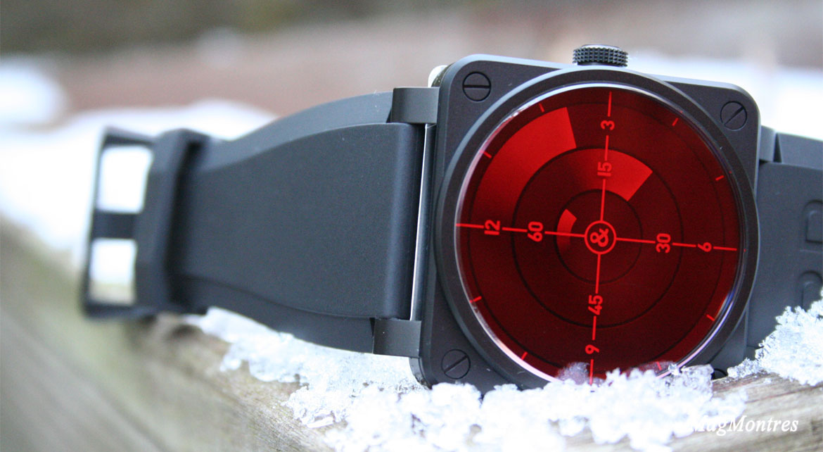 Bell & Ross BR 01 Red Radar