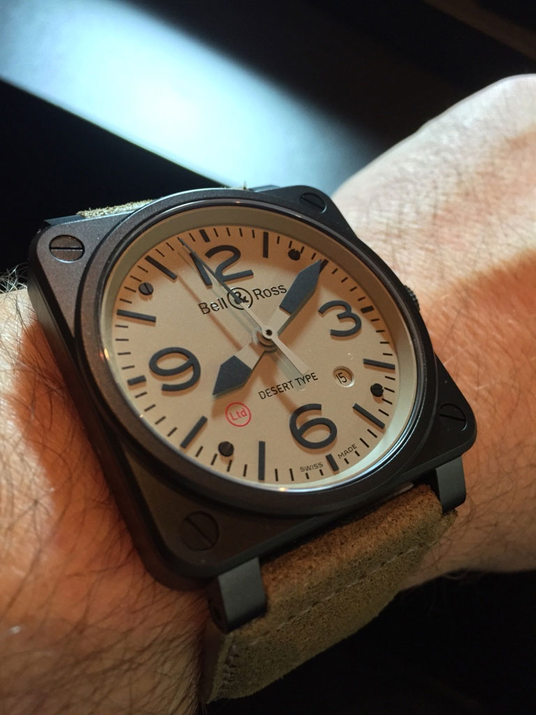 BR03-92 Ltd Desert Type - Baselworld 2015 | Copyright Chrismonaco