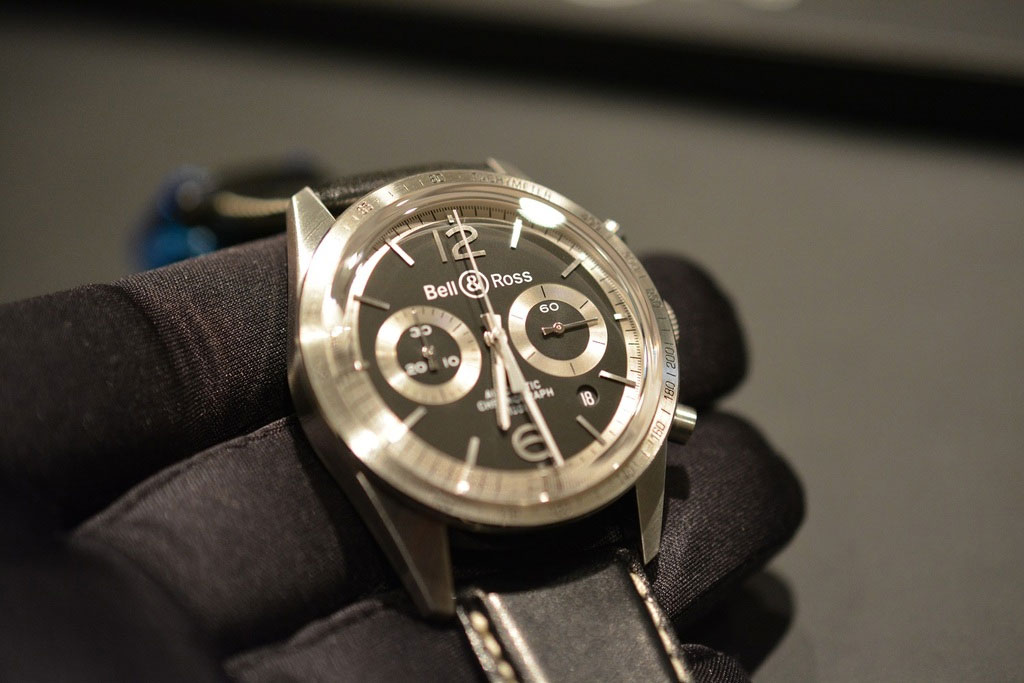 BR126 Black & Silver - Baselworld 2015 | Copyright Maverick