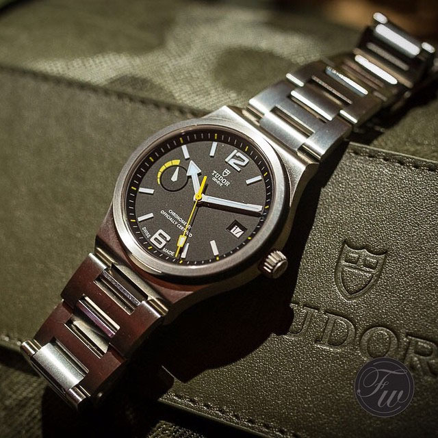 Tudor North Flag - Copyright @Fratellowatches