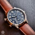 Patek Philippe Pilot Travel Time réf 5524 - Copyright @MonoChromewatch