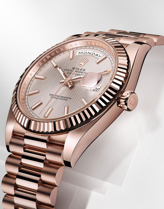 Rolex Day-Date 40 en or Everose - Baselworld 2015