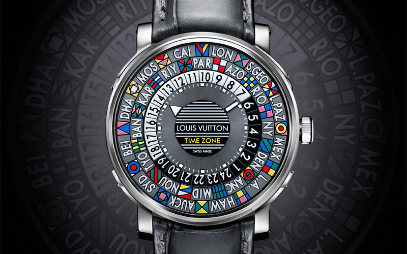 Louis Vuitton Escale Time Zone - Baselworld 2015